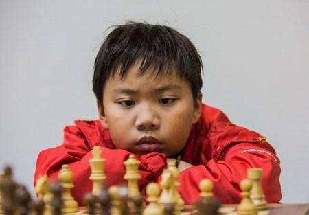 2017年亚洲青少年国际象棋锦标赛快棋赛:越南国际象棋队获1金3银2铜 hinh anh 1