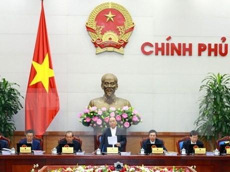 越南政府总理阮春福:努力克服越南经济面临的压力 hinh anh 1
