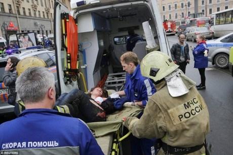 越南国家主席陈大光就圣彼得堡地铁站爆炸事件向俄总统普京致慰问电 hinh anh 1