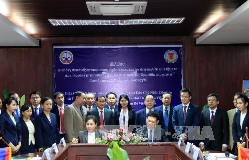 越老两国国家审计署加强合作 hinh anh 1