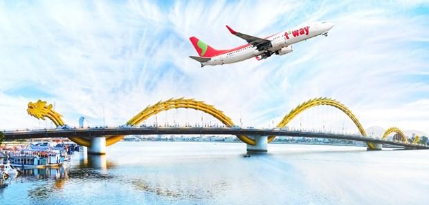 韩国德威航空公司开通越南岘港市至韩国大邱市直达航线 hinh anh 1