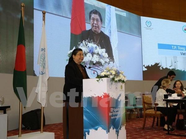 议联第136届大会:越南积极建言献策 努力减少不平等现象 hinh anh 1