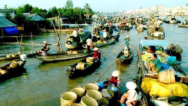 越南前江省生态旅游吸引游客的关注 hinh anh 1