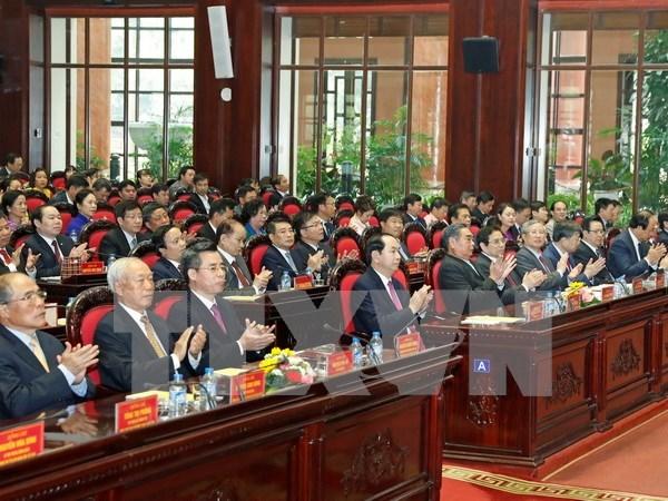 国家主席陈大光出席中央直属机关党委成立10周年纪念大会 hinh anh 1
