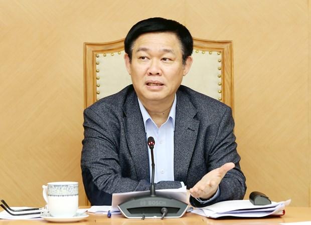 王廷惠主持召开有关国有企业股份制改革工作的会议 hinh anh 1