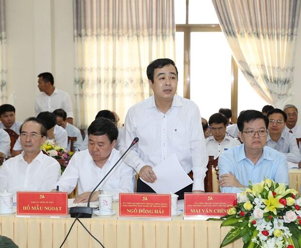阮富仲总书记:昆嵩省需继续实现快速可持续发展 hinh anh 2