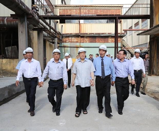 阮富仲总书记:昆嵩省需继续实现快速可持续发展 hinh anh 5