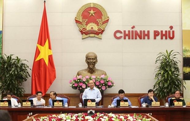 越南政府4月份立法专题例行会议决议:停止以零盾价格收购实力薄弱的信贷组织 hinh anh 1
