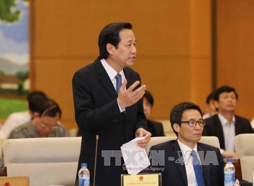 第十四届国会常委会举行首场质询会 hinh anh 1