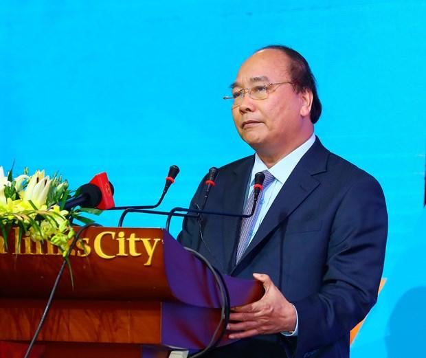阮春福总理出席平顺省2017年投资促进会 hinh anh 1