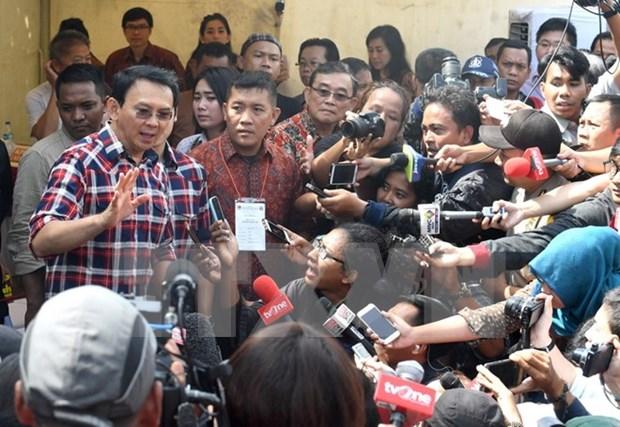 印尼雅加达特区省长选举进入第二轮投票 hinh anh 1