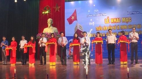 """""""黄沙、长沙归属越南""""资料图片展充分证明越南早就对这两个群岛拥有主权 hinh anh 1"""