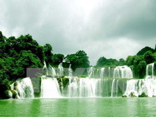 越南政府总理批准板约瀑布旅游区规划 hinh anh 1