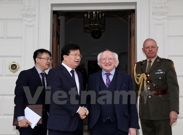 越南政府副总理郑廷勇圆满结束对爱尔兰进行的正式访问 hinh anh 1