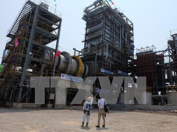 越南首个工业废料处理发电系统正式落成 hinh anh 1