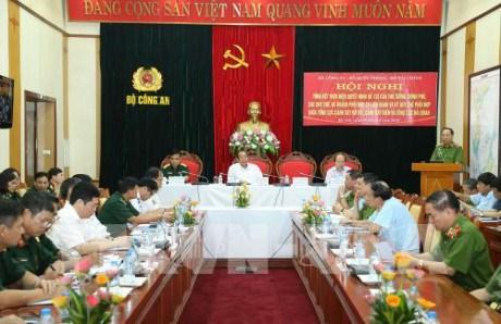 张和平副总理:加强协调配合 提高打击毒品犯罪的工作效率 hinh anh 1