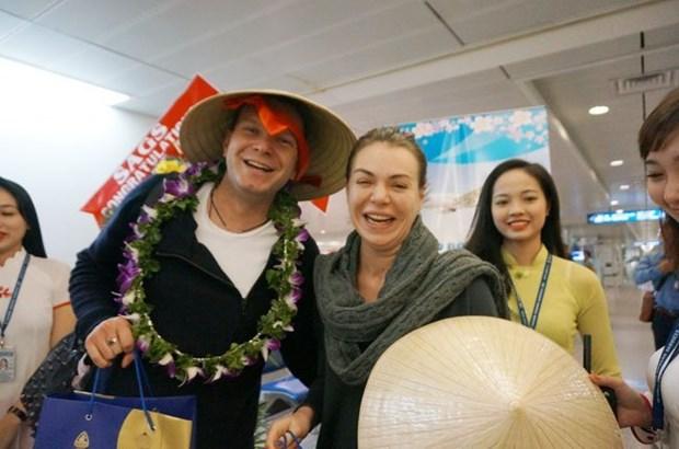 越南力争实现国际游客量年增幅达19%的目标 hinh anh 1