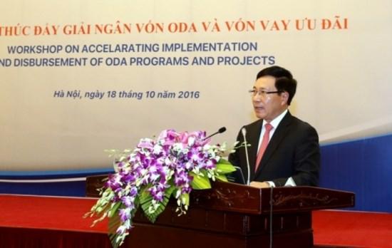 政府副总理范平明主持召开关于使用官方发展援助资金的会议 hinh anh 1