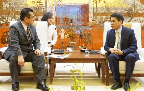 河内市与日本西条市加强合作共促发展 hinh anh 1