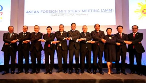 东盟各国外长发表声明 呼吁朝鲜半岛有关各方保持克制 hinh anh 1