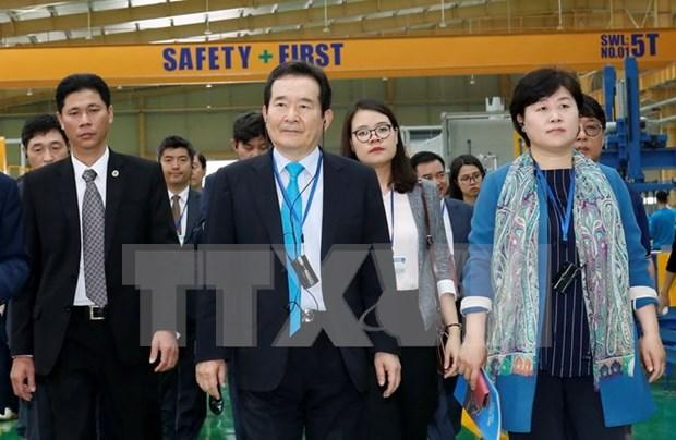 韩国国会议长丁世均圆满结束对越进行的正式访问 hinh anh 1