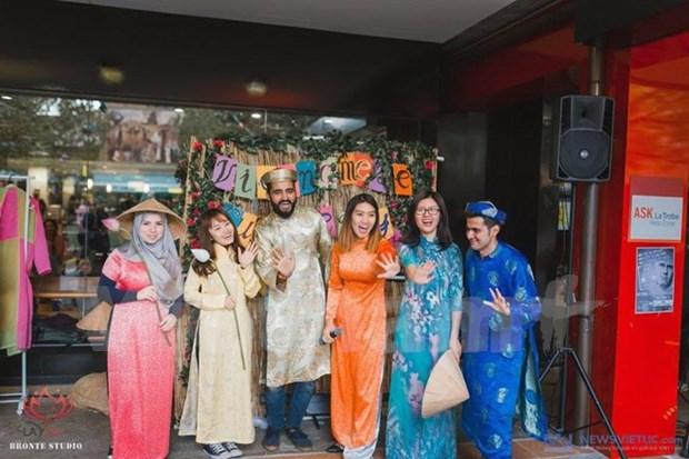 色彩缤纷的越南文化节在澳大利亚墨尔本市举行 hinh anh 1