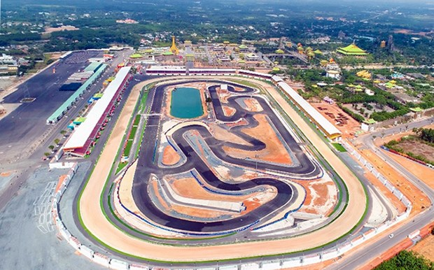 越南最具规模的赛场在平阳省落成 hinh anh 1