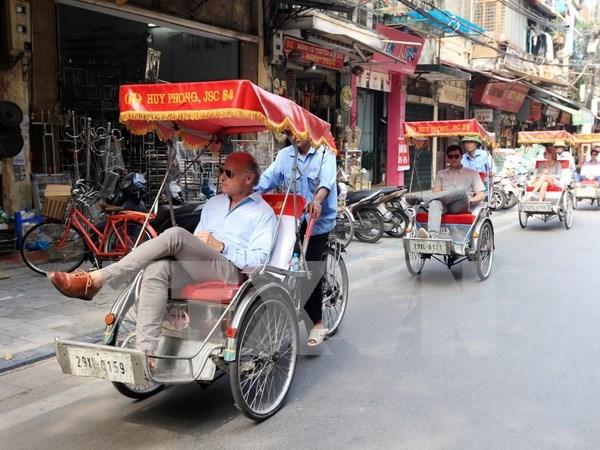 越南南方解放日和国际劳动节期间:河内市接待国际游客人数猛增 hinh anh 1