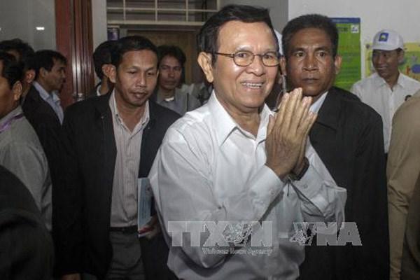 柬埔寨内政部承认救国党的新党章 hinh anh 1