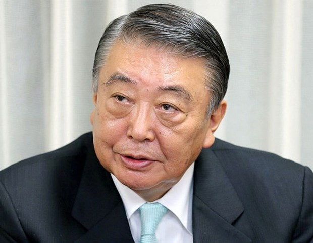 日本国会众议院议长大岛理森开始对越南进行正式访问 hinh anh 1