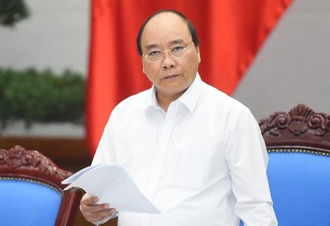 越南政府总理阮春福:政府坚持经济增长率达6.7%的目标 hinh anh 1