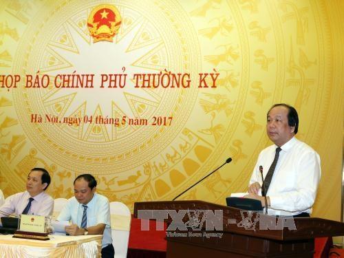 越南政府4月份例行记者会就舆论关注的问题进行解答 hinh anh 2