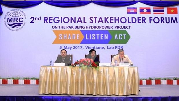 第二次北本水电站项目有关各方论坛在老挝万象举行 hinh anh 1