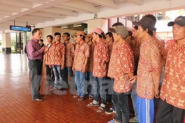越南近580名渔民因涉嫌非法捕鱼被印尼警方逮捕 hinh anh 2
