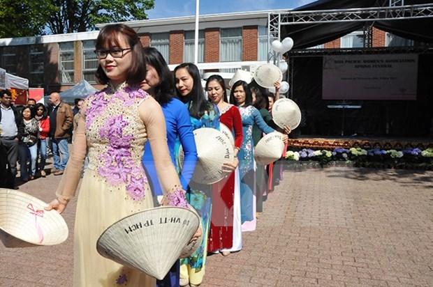 越南参加在比利时举行的春天节日 hinh anh 1
