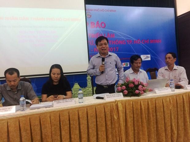 首届越南电信和信息技术展将在胡志明市举行 hinh anh 1