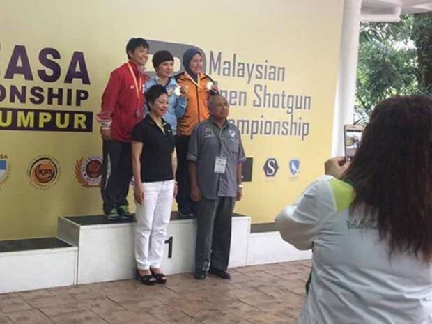 范氏河在2017年东南亚射击锦标赛上夺金 hinh anh 1
