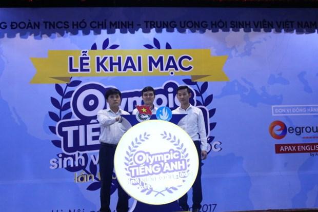 首届全国大学生英语奥林匹克竞赛在河内开幕 hinh anh 1