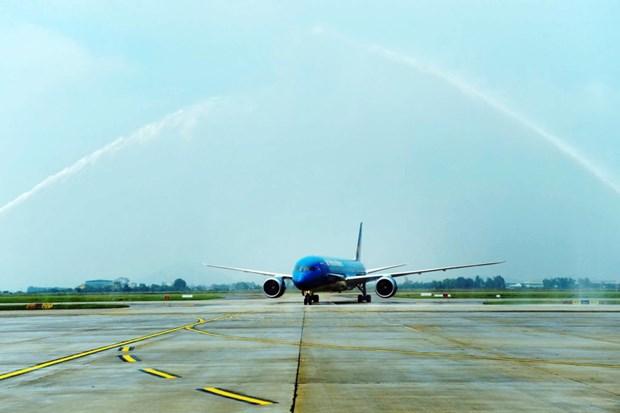 越南航空公司接受第11架波音787-9梦幻客机 hinh anh 1