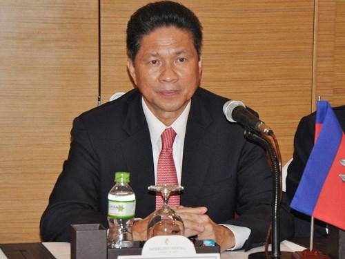 柬埔寨与日本加强合作关系 hinh anh 1
