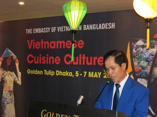 越南美食文化亮相孟加拉国 hinh anh 1