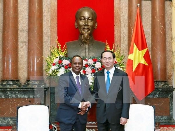 越南与马达加斯加希望分享粮食安全保障经验 hinh anh 1