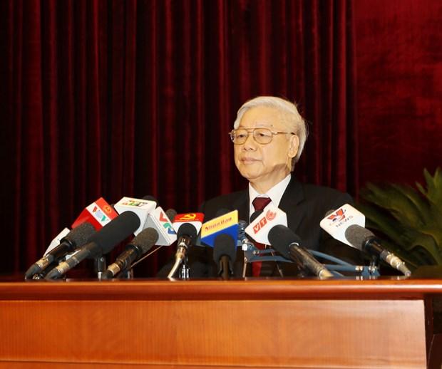 越共第十二届五中全会落幕 发布三项经济决议 hinh anh 6