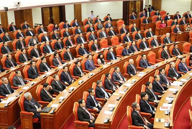 越共第十二届五中全会落幕 发布三项经济决议 hinh anh 5