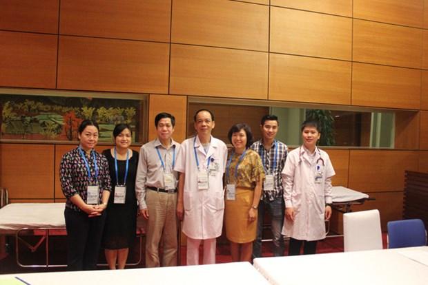 2017年APEC会议:全力做好APEC第二次高官会医疗卫生服务保障 hinh anh 1