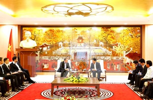 河内市为前来投资的外国企业创造一切便利条件 hinh anh 1