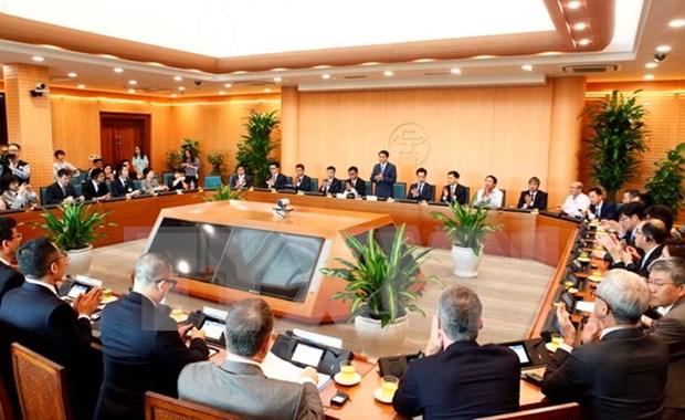 河内市为前来投资的外国企业创造一切便利条件 hinh anh 2