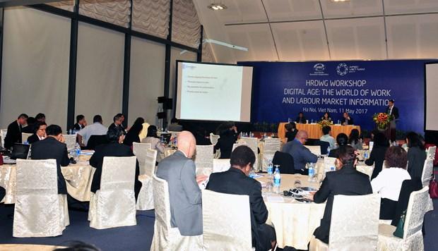 2017年APEC会议:在数字纪元中就业世界和劳动力市场信息 hinh anh 1