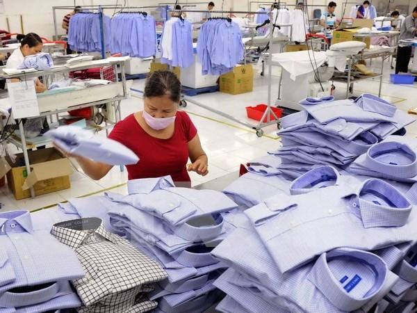 越印企业加强纺织领域的合作 hinh anh 1