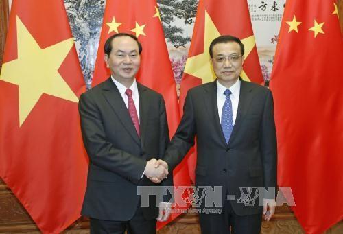 国家主席陈大光会见中国国务院总理李克强 hinh anh 1